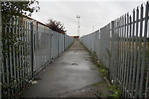 TA0827 : Former path to Albert Dock, Hull by Ian S