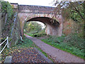 TL6921 : Bridge over Flitch Way, Felsted by Roger Jones
