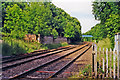 SK9804 : Site of former Ketton & Collyweston station, 1998 by Ben Brooksbank
