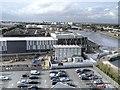 SJ8097 : ITV Studios, Trafford Wharf by David Dixon