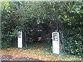 SU4200 : Exbury: old petrol pumps by Chris Downer