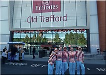 SJ8195 : New main entrance at Old Trafford by Anthony O'Neil