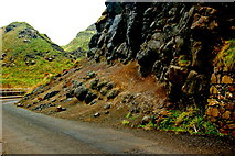 C9444 : Antrim Coast - Giant's Causeway - Shuttle Bus Road near Great Stookan by Joseph Mischyshyn