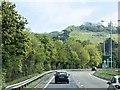 TQ7858 : A249, Sittingbourne Road near Detling by David Dixon