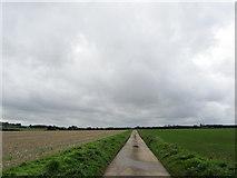 TR2357 : Access Lane from Britton Farm by Chris Heaton