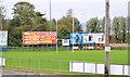 J3978 : Rugby pitch, Holywood (1) by Albert Bridge