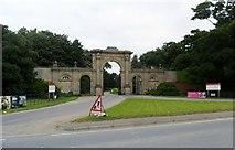 SJ5409 : Entrance to Attingham Park by nick macneill