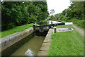 SP1869 : Lock No 26 south of Kingswood, Warwickshire by Roger  Kidd