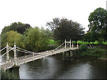 SO5139 : Victoria Bridge, Hereford by David Purchase