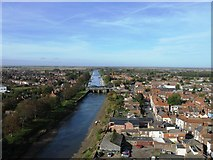 TF3244 : View from the Boston Stump by Alex McGregor
