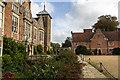 TG1728 : Entrance to Blickling Hall, Norfolk by Christine Matthews