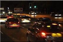 SJ7993 : Manchester : Stretford - Chester Road by Lewis Clarke