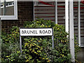 TM1444 : Brunel Road sign by Adrian Cable