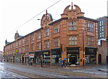SK3487 : Sheffield - Cavendish Buildings by Dave Bevis