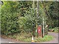 TQ6361 : Victorian postbox at Vigo by Stephen Craven