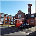 SO8540 : Former fire station and tower, Upton-upon-Severn by Jaggery