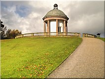SD8304 : The Temple, Heaton Park by David Dixon