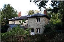 TQ2652 : Gatton Park:  Tower Lodge Cottages by Dr Neil Clifton