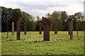 TQ2752 : Gatton Park;  Millennium Stones by Dr Neil Clifton