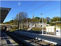 SD9311 : Newhey Metrolink station by Raymond Knapman