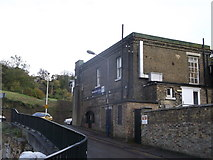 TQ7568 : Former Guardshouse to Fort Amherst by David Anstiss