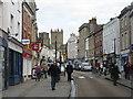 ST5445 : High Street, Wells by M J Richardson