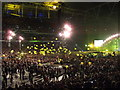 TQ1985 : Yellow - Coldplay - Wembley by Richard Humphrey