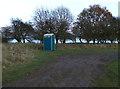 SK9207 : Portable toilet on the Hambleton peninsula by Mat Fascione