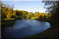 SD4985 : River Kent, Levens Park by Ian Taylor