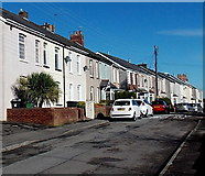 ST2896 : Church Road houses, Pontnewydd, Cwmbran by Jaggery