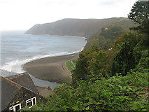 SS7249 : Eastern Beach at Lynmouth by M J Richardson