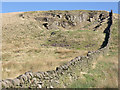 SK0375 : Disused quarry by Stephen Burton