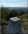 SK4513 : Bardon Hill trig point by Mat Fascione