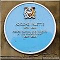 SJ8497 : Adolphe Valette Blue Plaque, Manchester School of Art by David Dixon