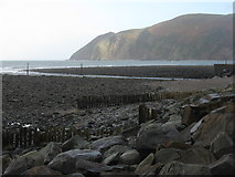 SS7249 : Lynmouth and Foreland Point by M J Richardson