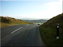 SD7738 : Clitheroe Road at the Nick of Pendle by Carroll Pierce