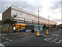 TQ4077 : Shops on Old Dover Road by Stephen Craven