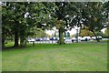 SP1292 : Car park, Pype Hayes Park by Robin Stott