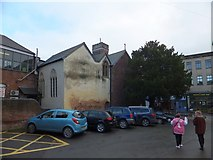 SX9192 : The rear of St Olave's Church, Fore Street, Exeter by David Smith