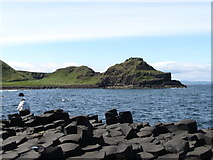 C9444 : Great Stookan from the Giant's Causeway by Eric Jones