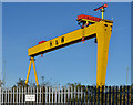 "J3574 : ""Goliath"", Belfast (12) by Albert Bridge"