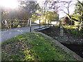 SO2614 : Bridge over the canal near Llanwenarth House by Jeremy Bolwell
