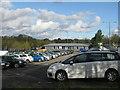 ST5065 : Car Rental office at Bristol Airport by M J Richardson