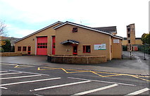 SS6593 : Swansea Central Fire Station by Jaggery