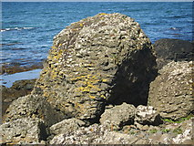 C9444 : Spheroidal weathered boulders at Port Granny by Eric Jones
