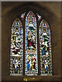 NZ2464 : St. Andrew's Church, Newgate Street, NE1 - stained glass window by Mike Quinn