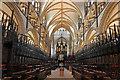 SK9771 : St.Hugh's Choir by Richard Croft