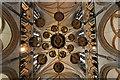 SK9771 : St.Hugh's Choir chandelier by Richard Croft