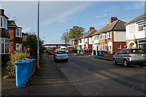 TA0832 : Strathmore Avenue off Beverley Road, Hull by Ian S