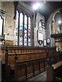 NZ2464 : St. Andrew's Church, Newgate Street, NE1 - choir stalls by Mike Quinn